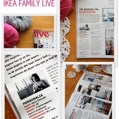 This week on my coffee table: IKEA FAMILY LIVE