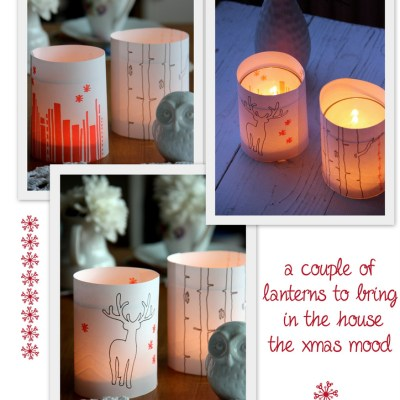 Xmas Ida DIY #1: paper lanterns