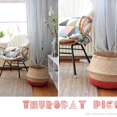 Thursday pics {dip dyed basket}