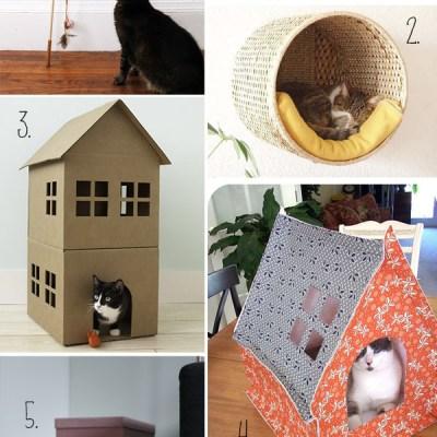 DAY PIN DIY #18 {cats ed.}