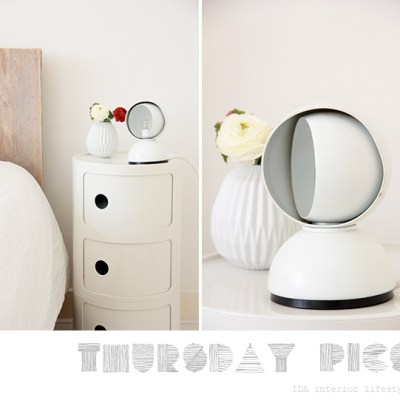 Thursday pics {Eclisse lamp}
