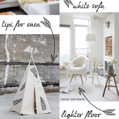 Inspirations for the living room restyle