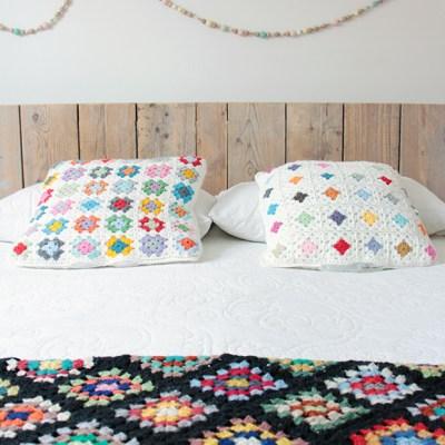 #2 A new crochet cushion