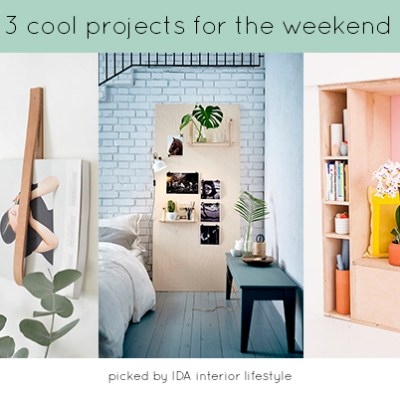 3 cool projects for the weekend