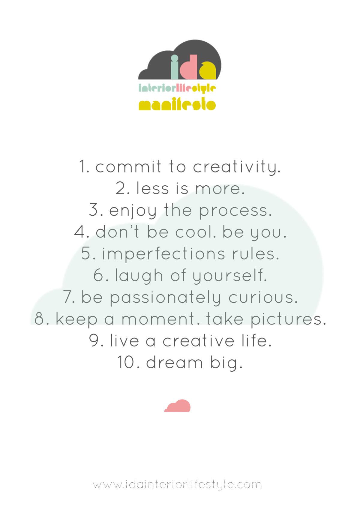 Il Manifesto di Ida Interior Lifestyle