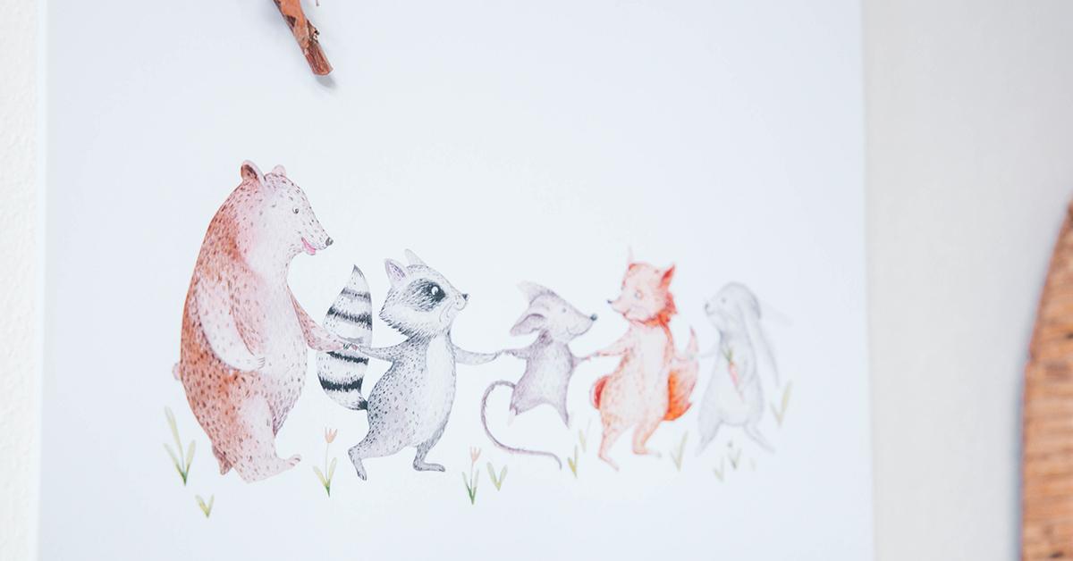Animal friends per Enea e Leo