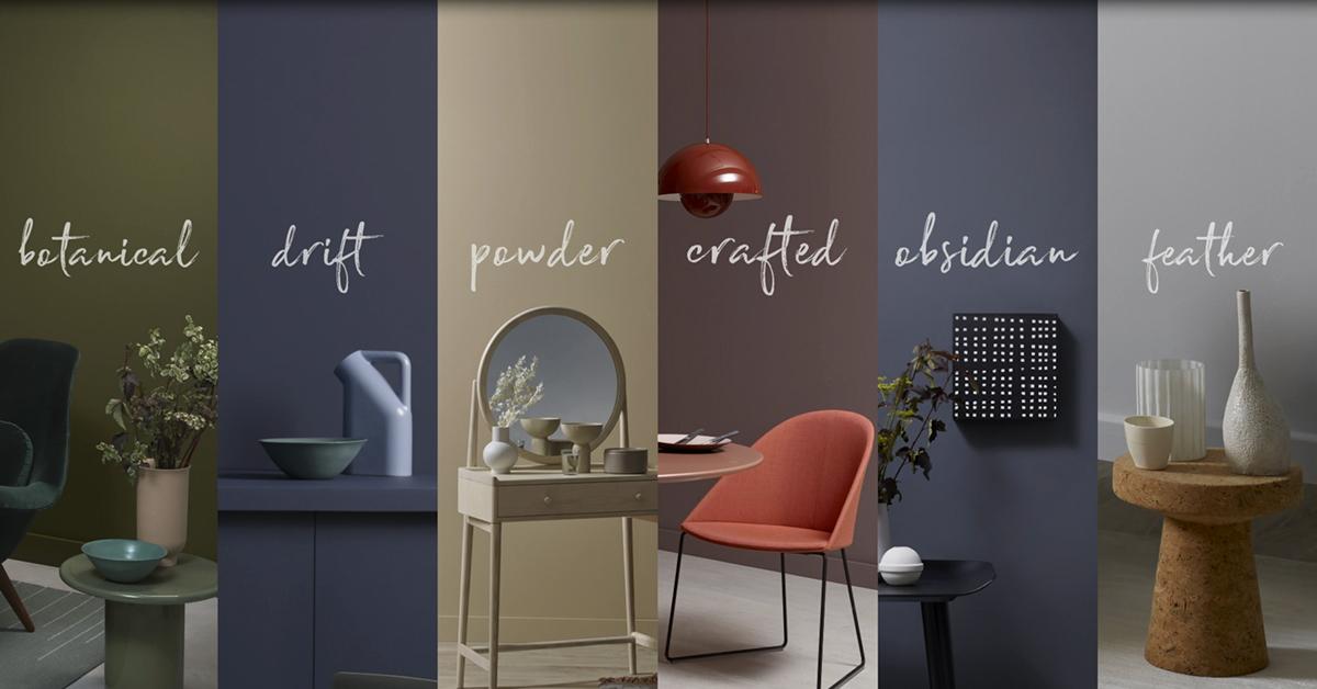 ELLE Decoration e Crown Paints, una nuova interpretazione del colore