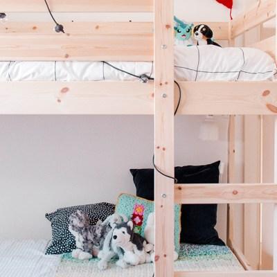 Room tour: la nuova stanza dei bimbi
