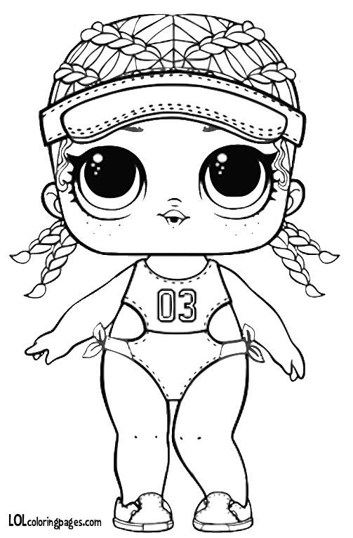 раскраски куклы лол распечатать бесплатно 100 картинок