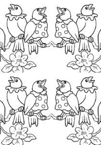 Birds - Free printable Coloring pages for kids19