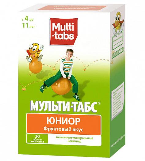 Жевательные таблетки «Multi-tabs Юниор»