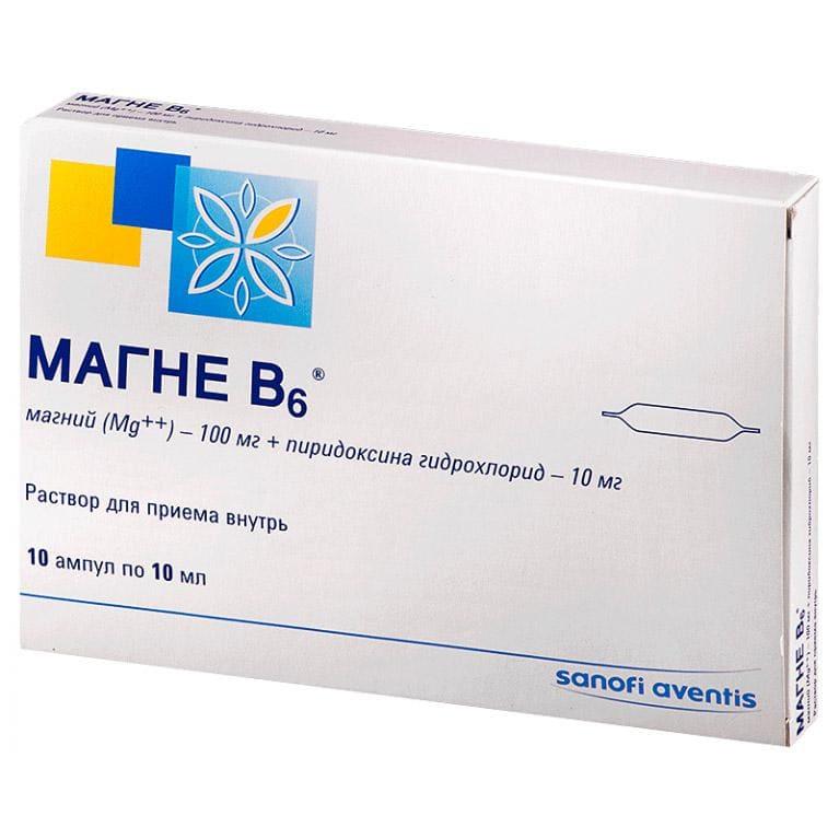 Sanofi, Магне B6, питьевой раствор