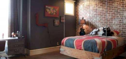Детская кровать в стиле лофт