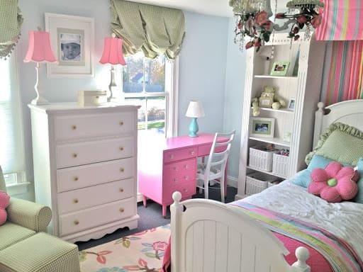 Дизайн детской комнаты для дочки 6 лет