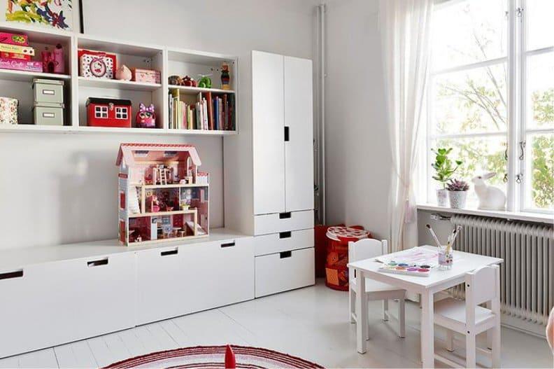 Детские комнаты Икеа в интерьере