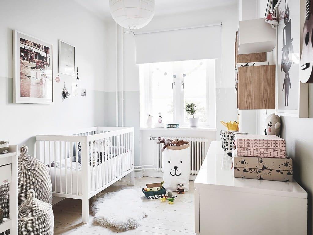 Детская в скандинавском стиле для двух