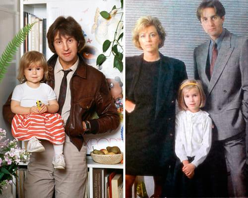 Леонид Ярмольник с дочерью