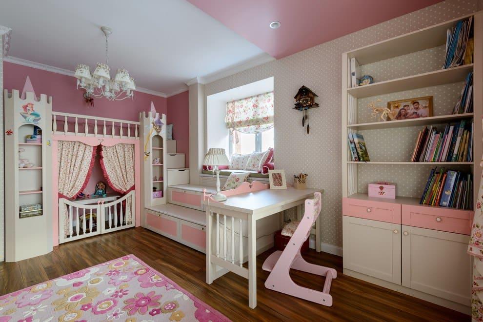 Дизайн детской комнаты для дочки 3 года