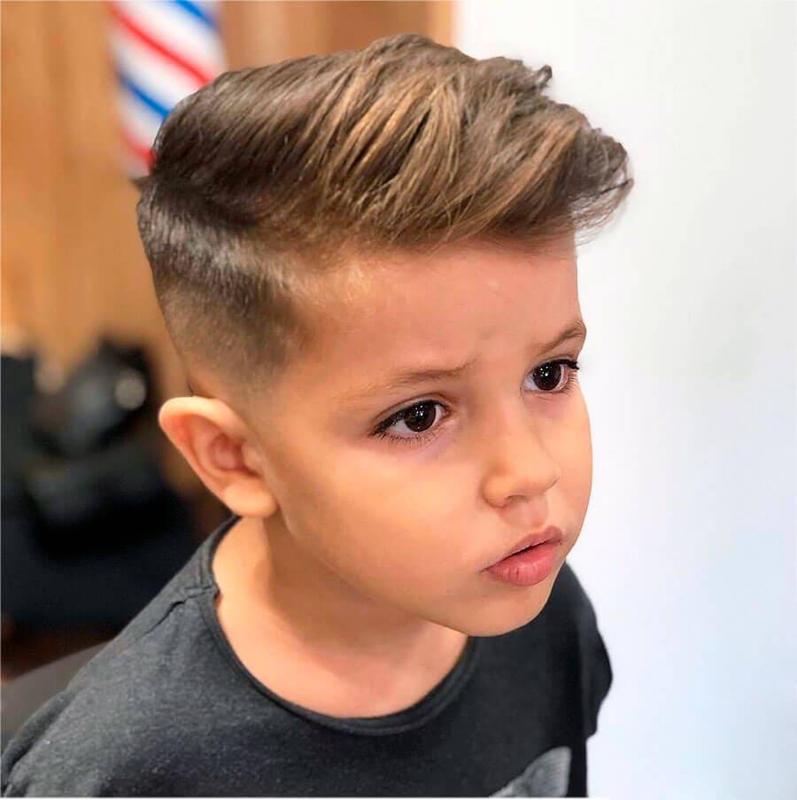 Детские стрижки мальчику фото 2020