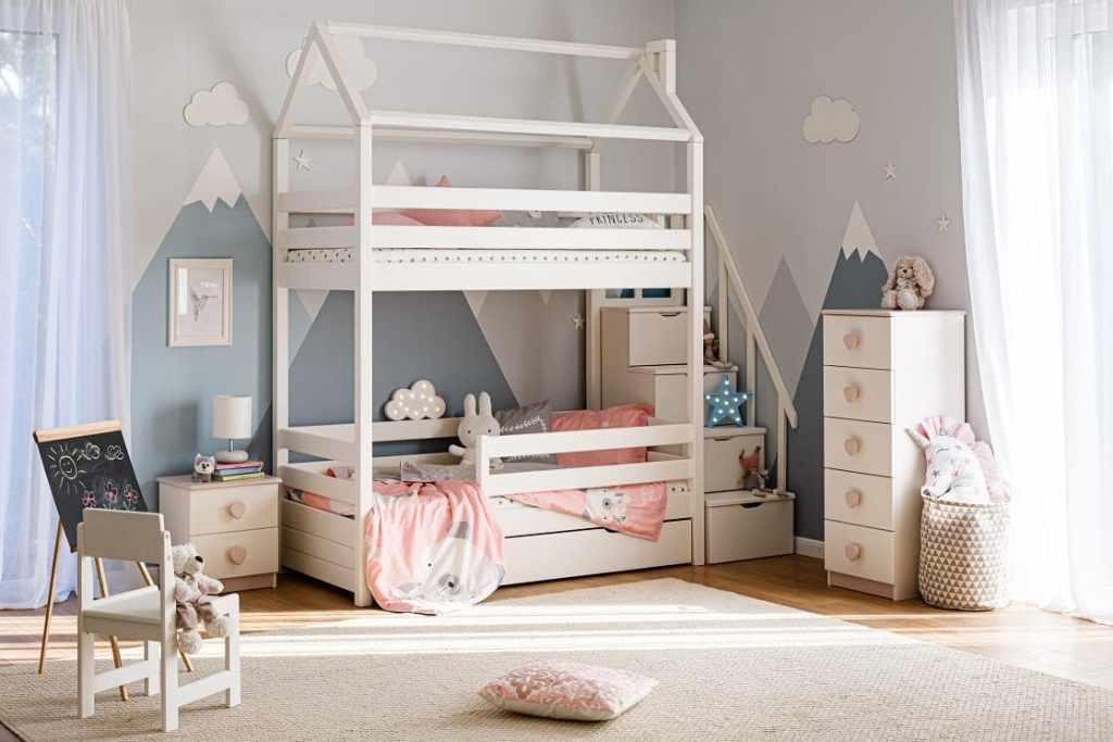 Красивые двухэтажные кровати