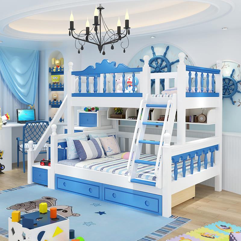 Детская спальня с двухэтажной кроватью
