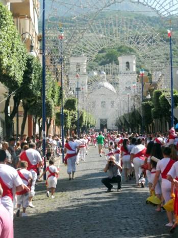 Philomena Feast Day Procession
