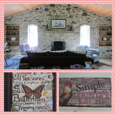 Country chic inside