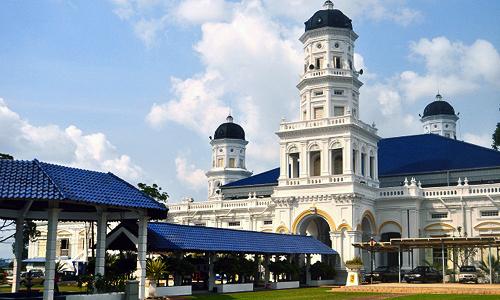 サルタン王宮 Grand Palace of Johor Istana Besar Johor