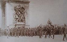 タイの遠征軍(1919年、パリ)