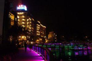 日月潭のホテル