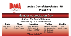 Wed July 12th 6-9 Member Appreciation Event at Akbar