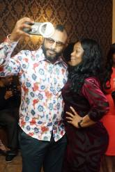 Jose Pagan with his Creative Director LaFina Phillips
