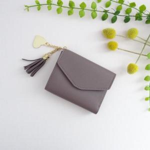 Portefeuille Alice taupe