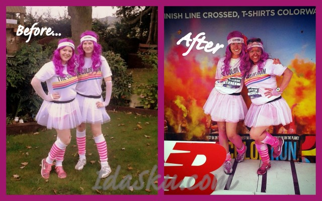 Color run Before and After 2014