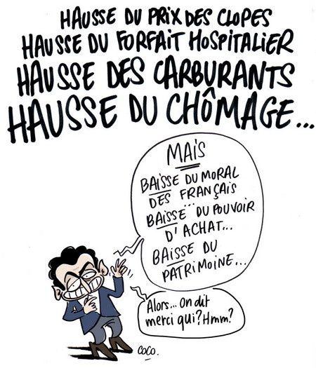 Sarkozy le super pollueur qui veut sauver la planète avec