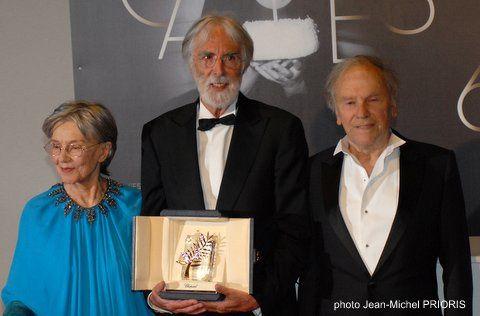 Palme d'or Cannes 2012