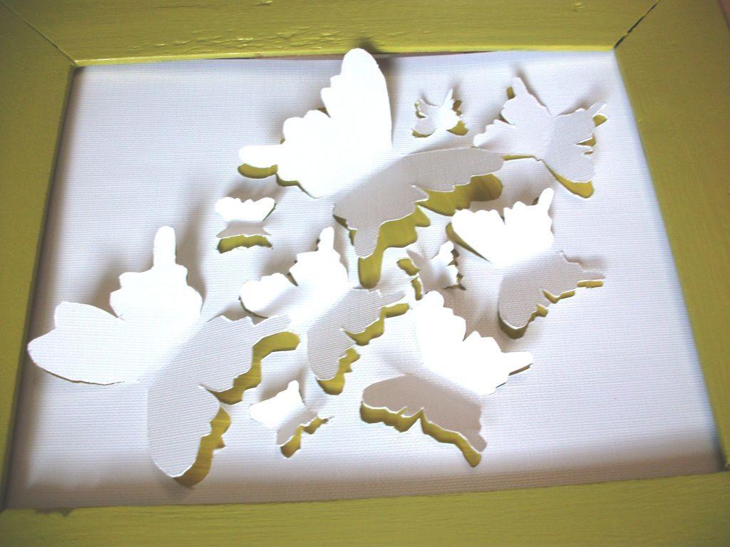 Tableau Papillon 103 Ides De Joline