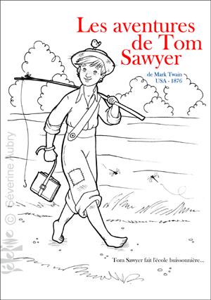 coloriage tom sawyer