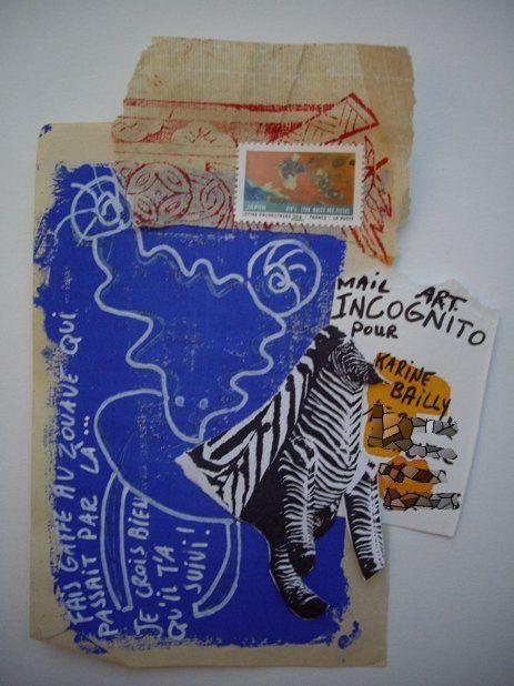 Mail art Incognito