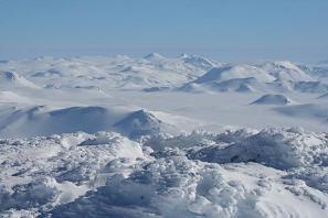 Neige sur le mont Hekla