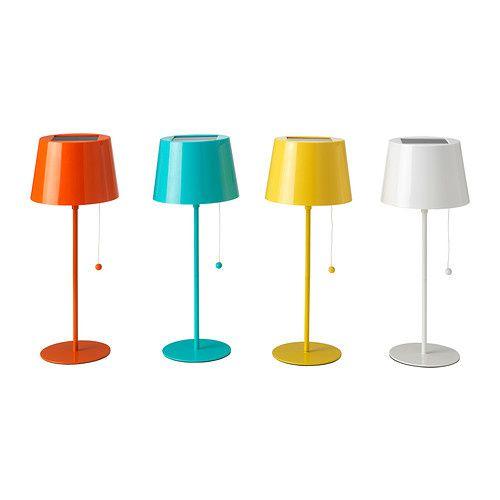 SOLVINDEN Lampe de table à énergie solaire IKEA