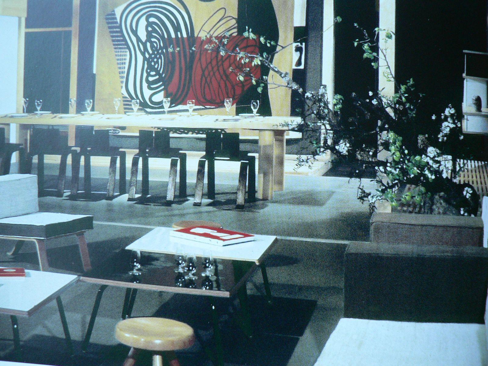 Proposition Dune Synthse Des Arts Paris 1955 Un