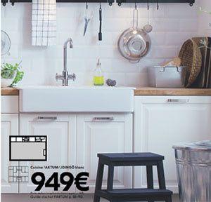 Ikea Cuisine Stat Et Vier Encastrer Ou Bacs Domsj With