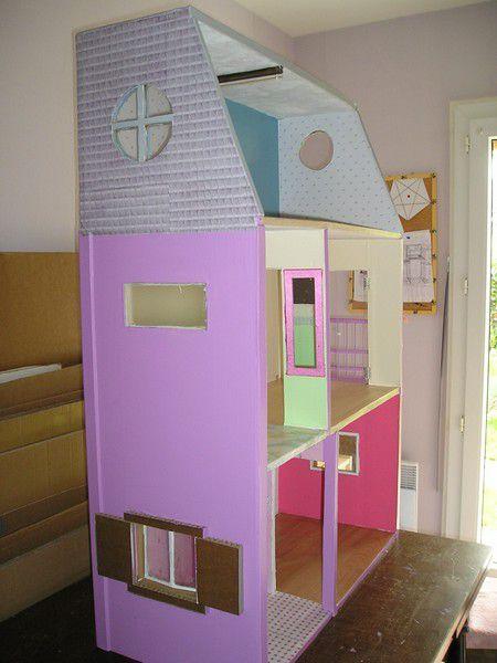 Maison De Barbie Les Extrieurs Ticia Crations