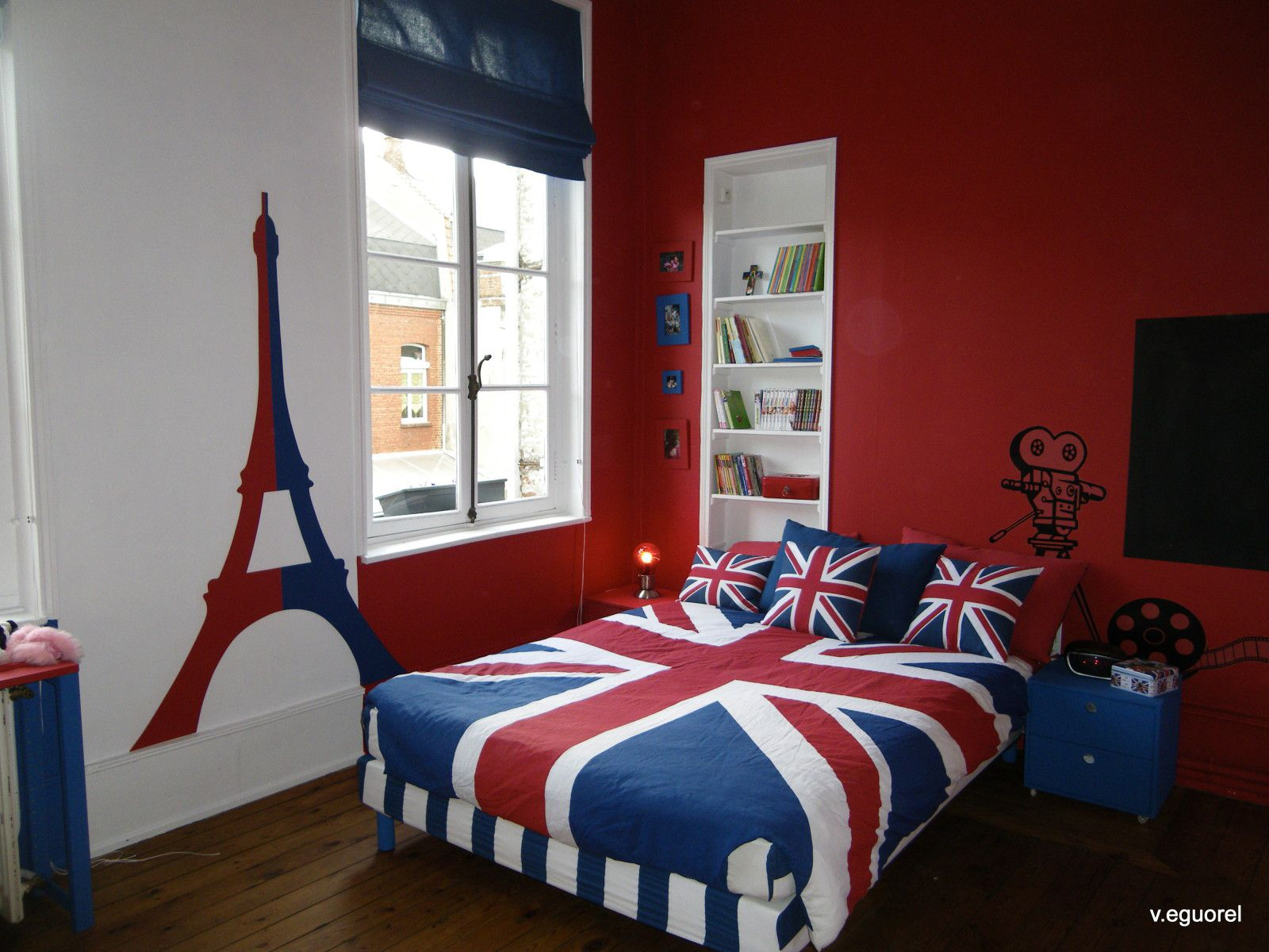 Best Album Relooking Chambre Dado Theme British Atelier