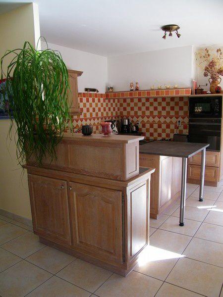 table de cuisine en stratifié