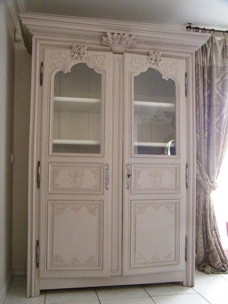 armoire ancienne modernisee