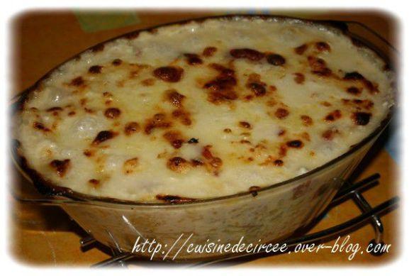 Gratin De Chou Fleur Pommes De Terre Fromage Et Jambon La