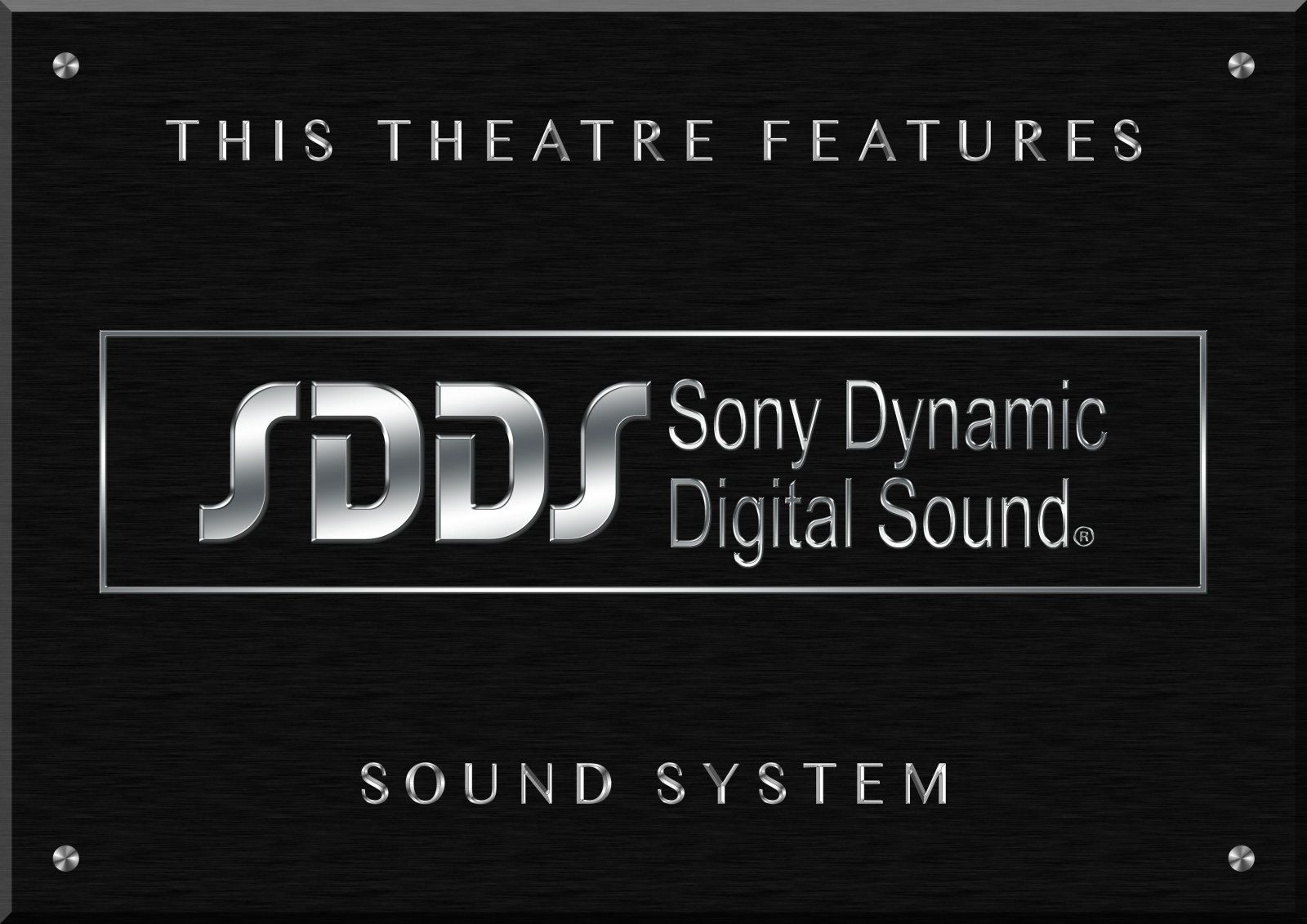 Sony Dynamic Digital Sound Selected Theatres Logo