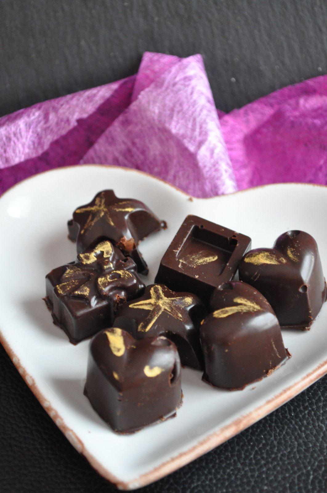 Chocolats Maison Faciles Blog Cuisine Avec Du Chocolat